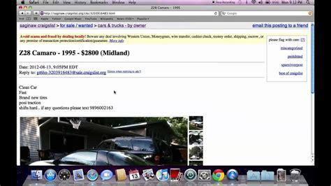 craigslist bay city michigan  cars  trucks