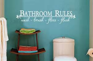 Bathroom Wall Quotes