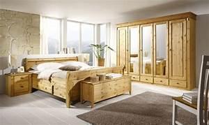Landhaus Schlafzimmer Komplett Massiv : schlafzimmer kiefer massiv cora landhaus ~ Bigdaddyawards.com Haus und Dekorationen
