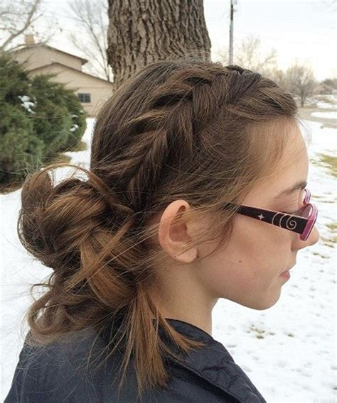 easy messy bun hairstyles 2018 for teenage girls hair