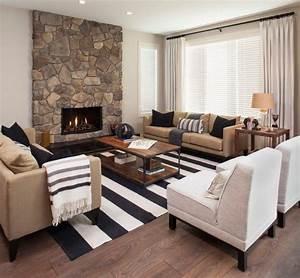 Monochromatic living room houzzcom for the home for Houzz living room