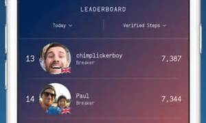 Sweatcoin app rewards people for the number of steps they ...