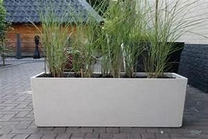 Beton Pflanzkübel Rechteckig : blumenk bel aus beton 25 spektakul re dekoideen f r die terrasse ~ Sanjose-hotels-ca.com Haus und Dekorationen