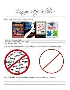 bullying worksheets images preschool primary