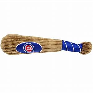 Chicago Cubs Plush Baseball Bat Dog Toy With Same Day