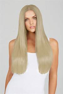 Ice Blonde 20 Inch Clip In Hair Extensions