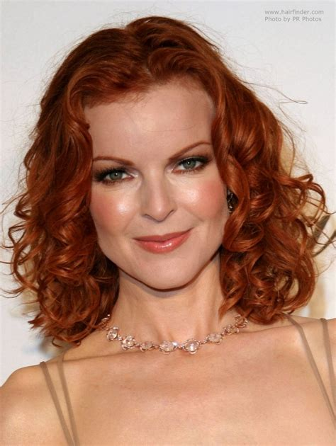 Hair Pictures by Marcia Cross Shoulder Length Hair With Curls