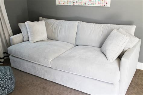 Living Room Ideas With Grey Couch by Simple Living Room Decoration With White 2 Seat Extra Deep