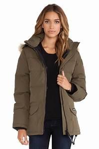 Canada Goose Shelburne Parka Coat With Fur Hood Military Green