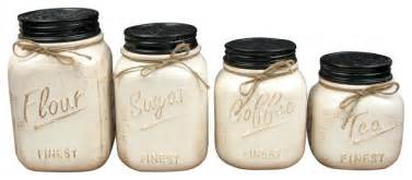 black canister sets for kitchen ceramic canisters set of 4 white rustic kitchen