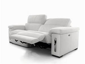 canape relaxation electrique canape idees de With canapé cuir relax electrique 3 places chateau d ax