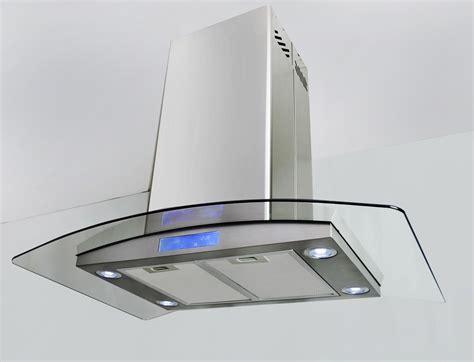 kitchen island range hoods gtc europe kitchen glass stainless steel island mount