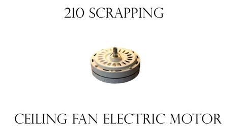 ceiling fan electric motor  copper