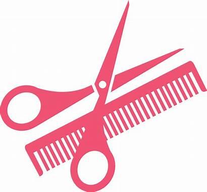 Comb Scissors Clip Salon Transparent Hairdressing Transprent