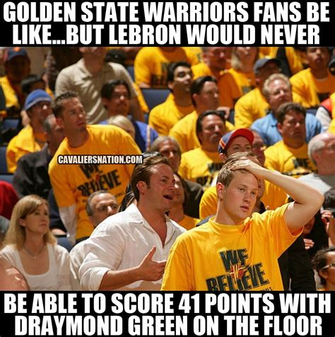Golden State Warriors Memes - top 10 hilarious memes from game 6 of nba finals page 2 of 10 cavaliers nation