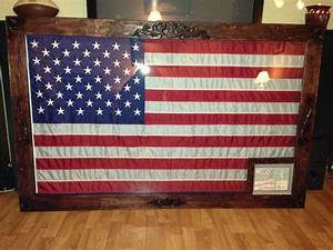 DIY 3'x5' flag shadow box / frame Home stuff Pinterest