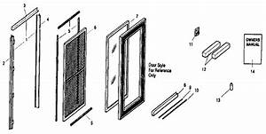 Sears 32 U0026quot  X 80 U0026quot  Best Fullite Black Storm  Screen Door Parts