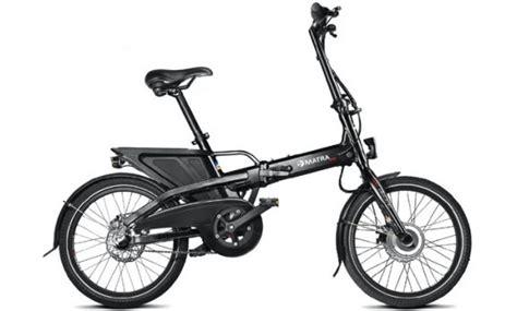 si鑒es pliants test du vélo électrique pliant matra fx veloactif
