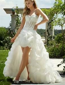 rainingblossoms popular high low wedding dresses are charming With high low wedding dresses