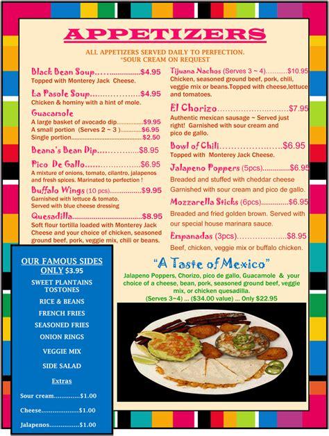 cuisine menu list food menu list food ideas