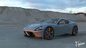 2021 Nissan 400z Sports Car Rendered With Sharp Styling