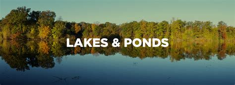 lakes ponds mill creek metroparks