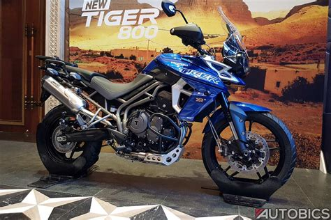 triumph tiger  xr xrx xcx launched  india