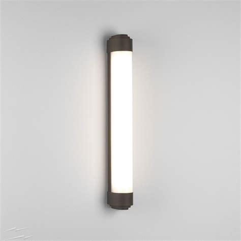 belgravia 600 led bathroom wall light in bronze 19w led