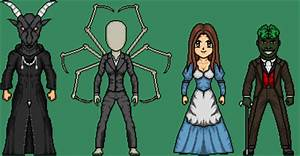 Creepypasta Micro Heroes 11 by MrEtsam on DeviantArt