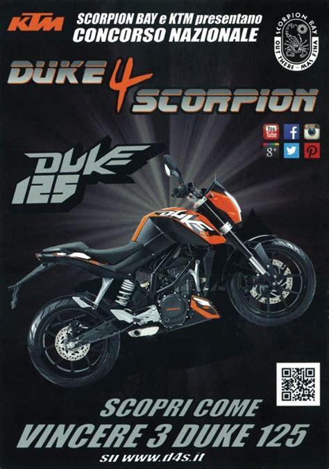 Scorpio Ala Duke by Ktm Duke 125 Vincila Con Duke 4 Scorpion Motociclismo