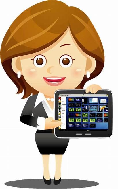 Tablet Teacher Professional Classroom Tablets Development Calendar