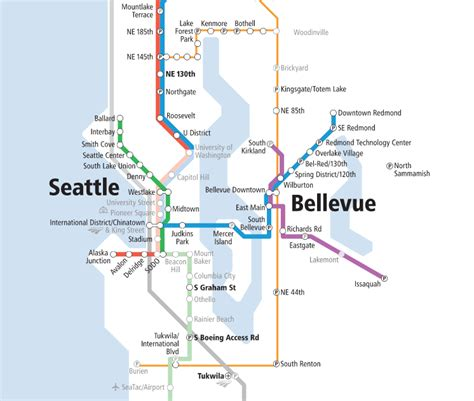 light rail map seattle map of the week sound transit s new system expansion map