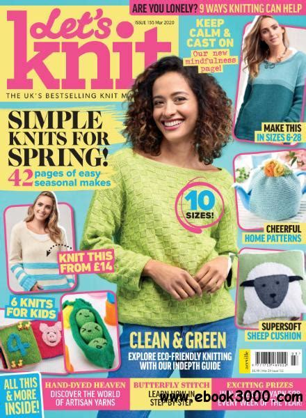 lets knit issue  march   ebooks