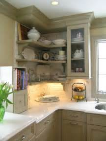 kitchen corner shelves ideas five inc countertops 5 ways to make practical use of a corner kitchen cabinet