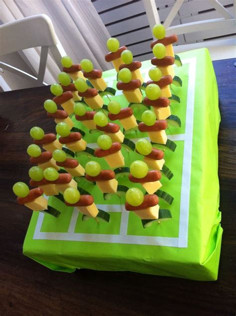 kindergeburtstag gesunde snacks pin auf let s