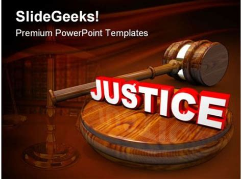 justice law powerpoint templates  powerpoint