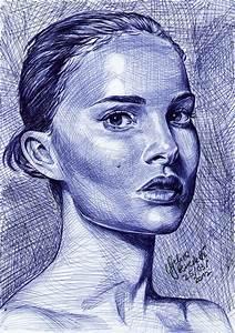 Natalie Portman Ballpoint Pen by AngelinaBenedetti on ...