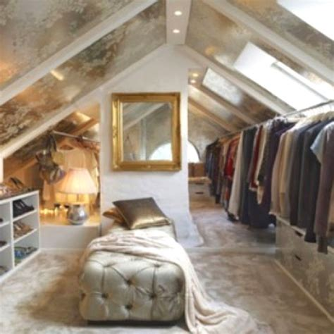 attic turned closet decor files organizing ideas
