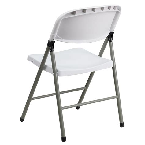 Hercules Folding Chairs Manufacturer by Hercules Series 330 Lb Capacity White Plastic Folding