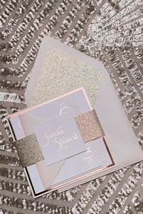 adele suite styled fancy glitter package foil With foil stamped wedding invitations cheap
