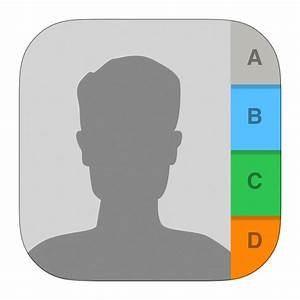 Contacts Icon | iOS7 Style Iconset | iynque