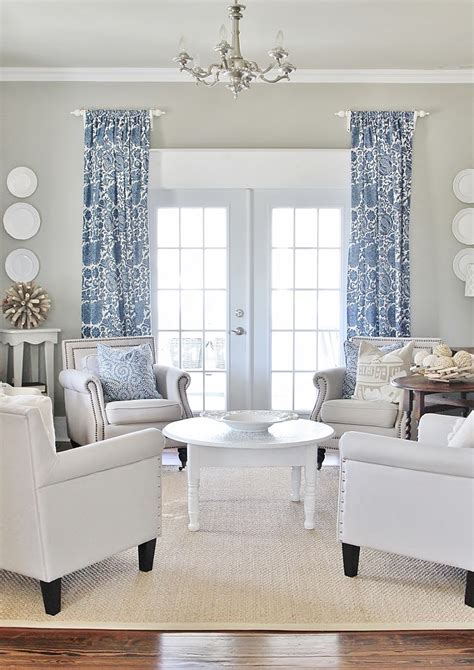 decorative curtains for living room simple tip to make your windows appear larger