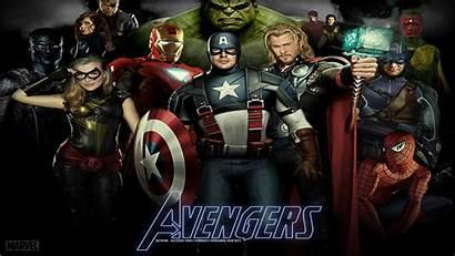 Avengers Marvel Desktop Comics Wallpapers Wallpapersafari Code