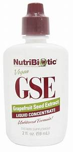 Cold And Flu Support  Nutribiotic Grapefruit Seed Extract Liquid Concentrate