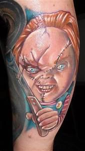 Tattoos Die Sich Ergänzen : madesito chucky die m rderpuppe die etwas lteren werden sich noch erinnern tattoos von ~ Frokenaadalensverden.com Haus und Dekorationen