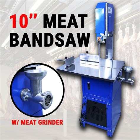 Meatsaw Electric Bandsaw w/ Mincer Meat Saw Cutting Meat