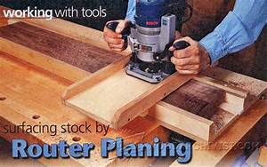 Router Planing Jig • WoodArchivist