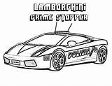 Police Lamborghini Coloring Cars Racing Race Lambo Fast Gallardo Cool Printable Fox Outline Nhra Sheets Boys Relentless Yescoloring Printe Nascar sketch template