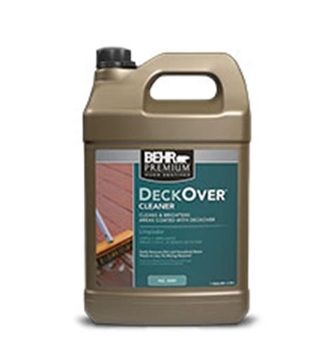 Behr Deck Cleaner And Brightener Directions by Deckover Cleaner Wood Stains Behr Paint