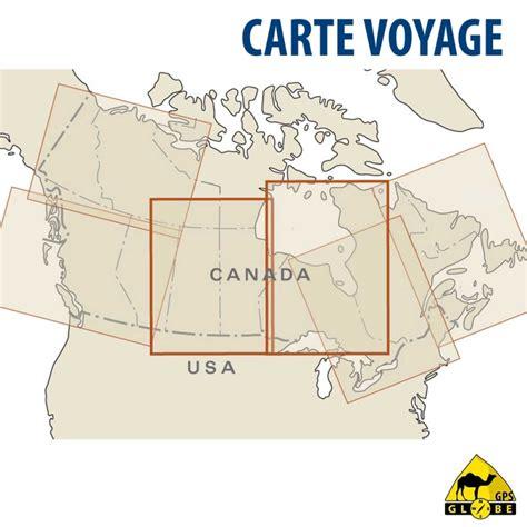 Carte Touristique Centre gps globe carte touristique du centre du canada